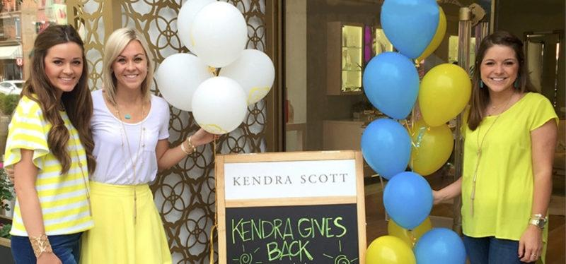 Kendra Gives Back with ERC