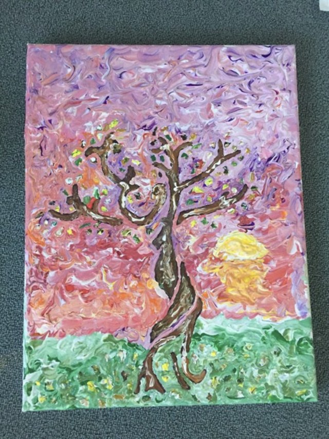 Painting of a tree